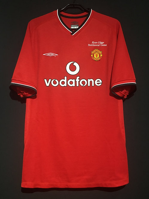 【2001】 / Manchester United / Home / No.7 / Ryan Giggs Testimonial