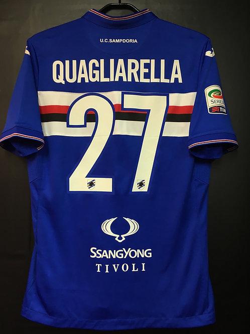 【2015/16】 / U.C. Sampdoria / Home / No.27 QUAGLIARELLA