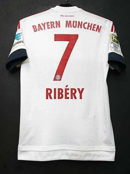 【2015/16】 / FC Bayern Munich / Away / No.7 RIBERY