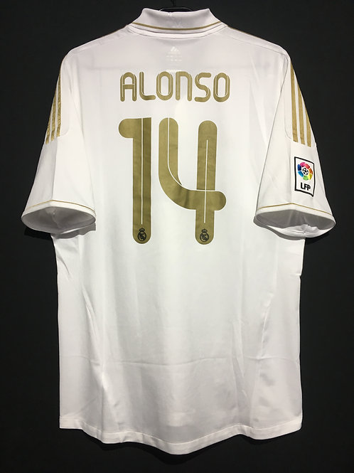 【2011/12】 / Real Madrid C.F. / Home / No.14 ALONSO