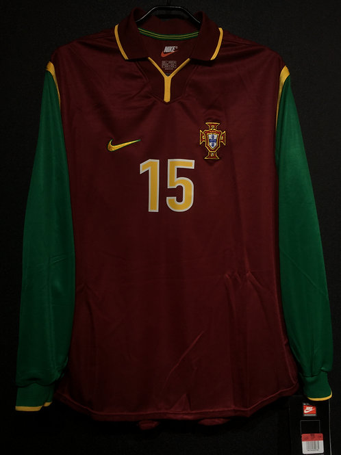【1998/99】 / Portugal / Home / No.15 / Player Issue