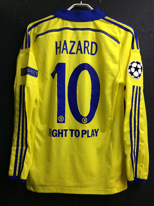 【2014/15】 / Chelsea / Away / No.10 HAZARD / UCL / Player Issue