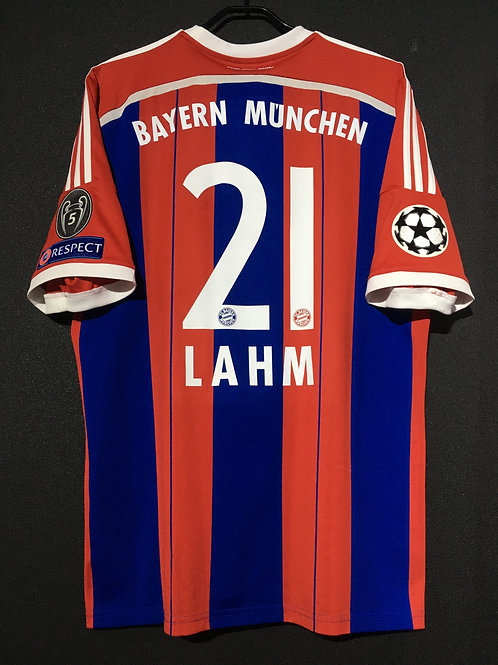 【2014/15】 / FC Bayern Munich / Home / No.21 LAHM / UCL