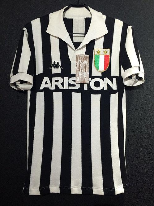 【1984/85】 / Juventus / Home / No.10 / Reprodution / Ver.1