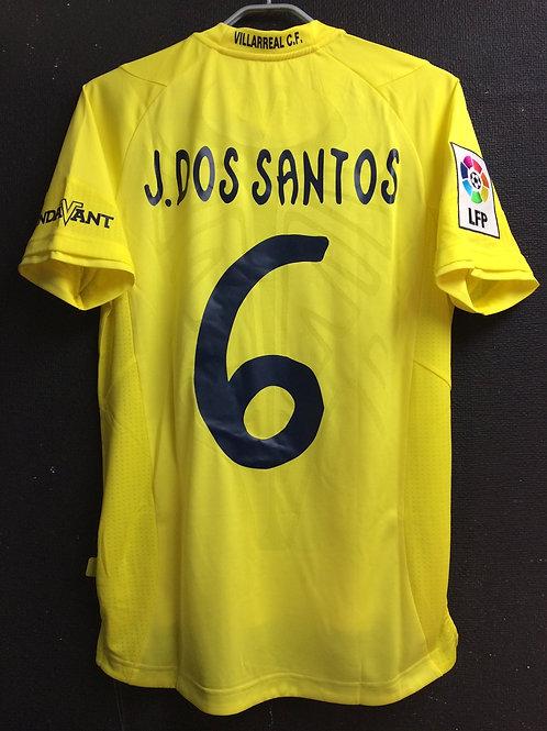 【2014/15】 / Villarreal CF / Home / No.6 J. DOS SANTOS