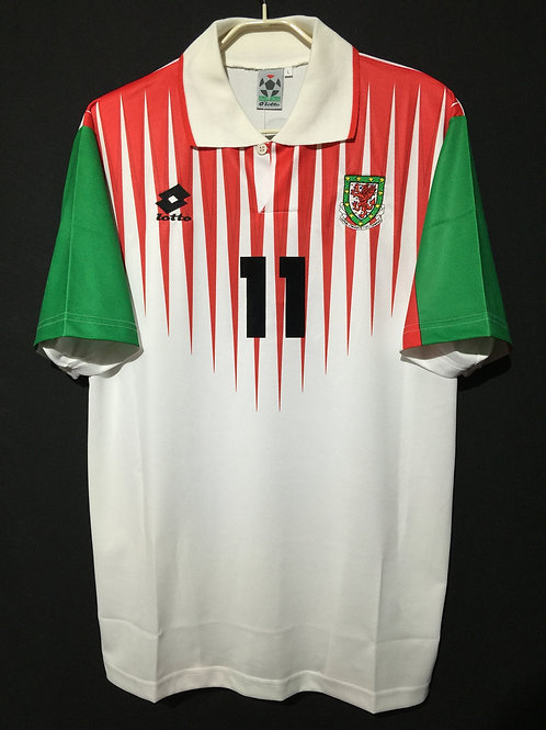 【1996/98】 / Wales / Away / No.11 GIGGS