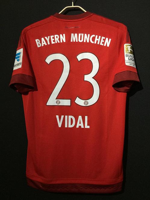 【2015/16】 / FC Bayern Munich / Home / No.23 VIDAL