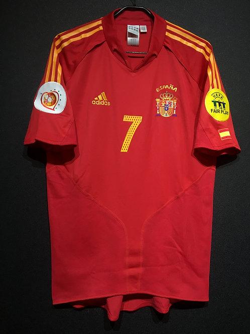 【2004】 / Spain / Home / No.7 RAUL / UEFA European Championship