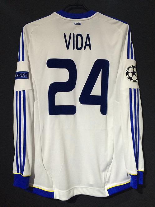 【2012/12】 / FC Dynamo Kyiv / Home / No.24 VIDA / UCL