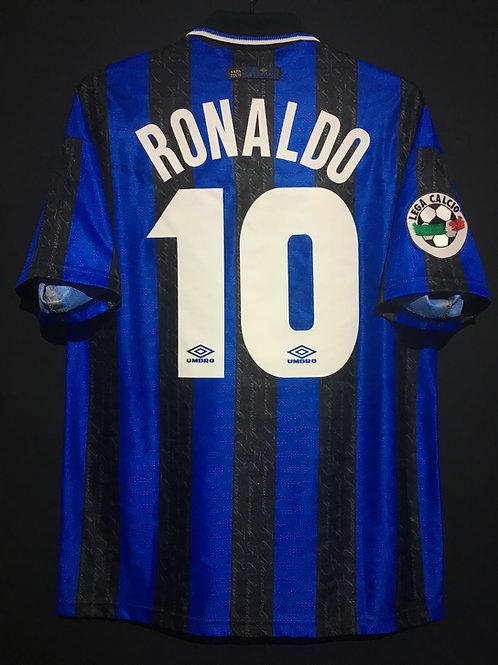 【1997/98】 / Inter Milan / Home / No.10 RONALDO
