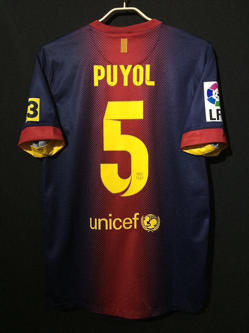 【2012/13】 / FC Barcelona / Home / No.5 PUYOL