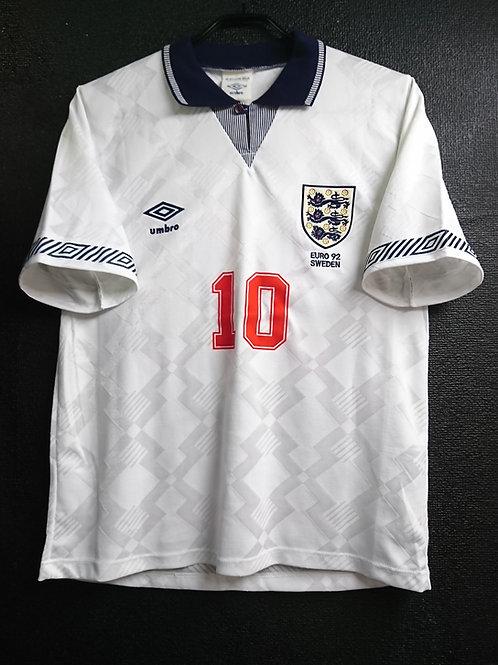 【1992】 / England / Home / No.10 LINEKER / UEFA European Championship