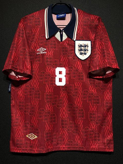 【1994/95】 / England / Away / No.8 GASCOIGNE