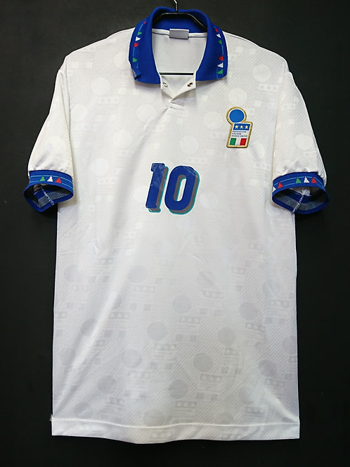 【1994】 / Italy / Away / No.10 R.BAGGIO / Made in Italy / Player Issue