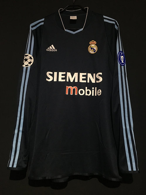 【2003/04】 / Real Madrid C.F. / Away / UCL
