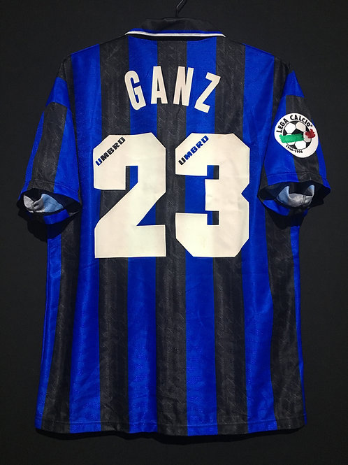 【1996/97】 / Inter Milan / Home / No.23 GANZ