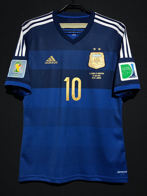 【2014】 / Argentina / Away / No.10 MESSI / FIFA World Cup