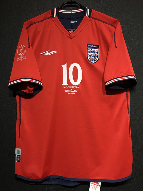 【2002】 / England / Away / No.10 OWEN / FIFA World Cup