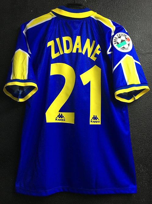 【1996/97】 / Juventus / Away / No.21 ZIDANE / Phase2