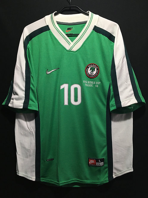 【1998】 / Nigeria / Home / No.10 OKOCHA / FIFA World Cup