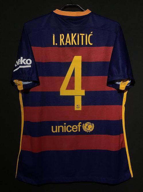 【2015/16】 / FC Barcelona / Home / No.4 I.RAKITIC / Authentic