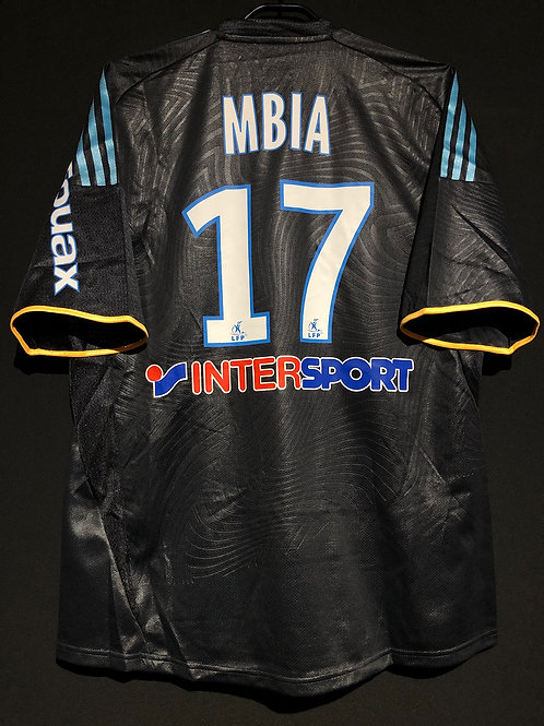 【2009/10】 / Marseille / 3rd / No.17 MBIA / Player Issue
