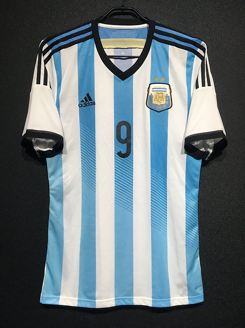 【2014】 / Argentina / Home / No.9 HIGUAIN / Authentic