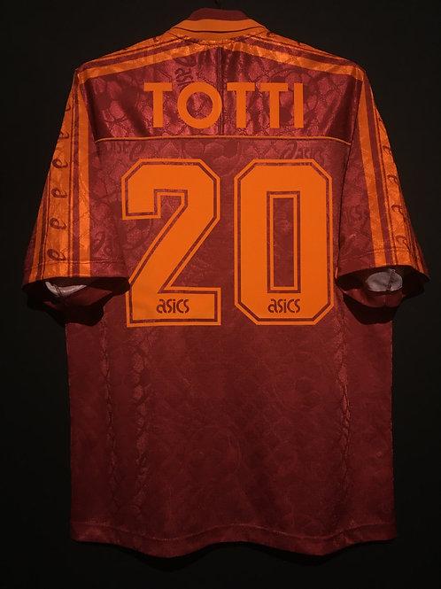 【1995/96】 / A.S. Roma / Home / No.20 TOTTI