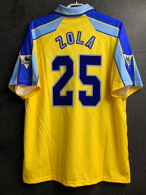 【1996/97】 / Chelsea / Away / No.25 ZOLA