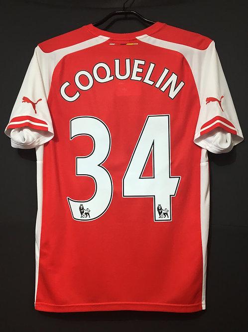 【2014/15】 / Arsenal / Home / No.34 COQUELIN