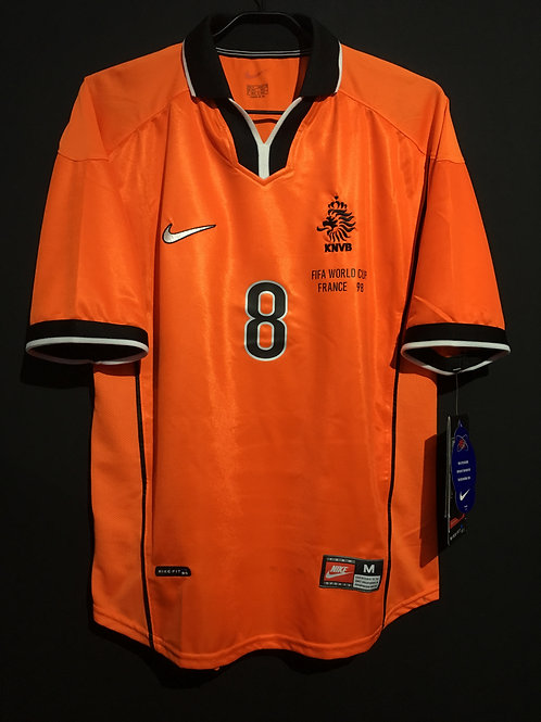【1998】 / Netherlands / Home / No.8 BERGKAMP / FIFA World Cup
