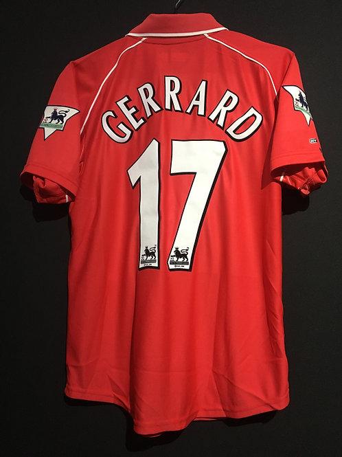 【2000/02】 / Liverpool / Home / No.17 GERRARD
