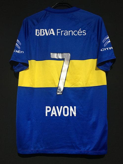 【2015/16】 / Boca Juniors / Home / No.7 PAVON