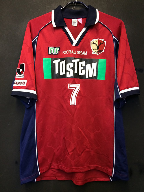 【2001】 / Kashima Antlers / Home / No.7 / Player Issue