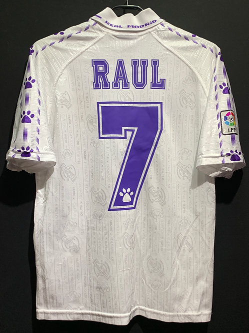 【1996/97】 / Real Madrid C.F. / Home / No.7 RAUL