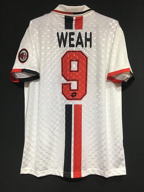 【1996/97】 / A.C. Milan / Away / No.9 WEAH