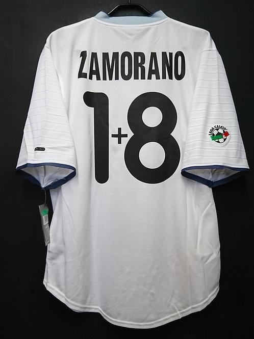 【2000/01】 / Inter Milan / Away / No.1+8 ZAMORANO