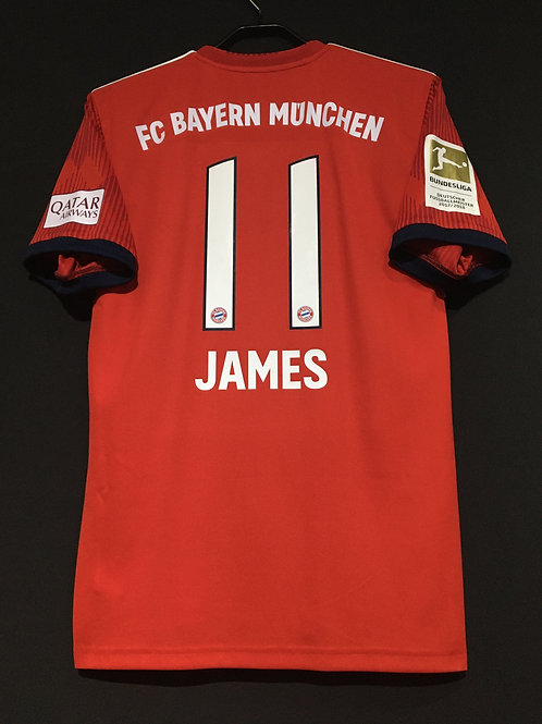 【2018/19】 / FC Bayern Munich / Home / No.11 JAMES