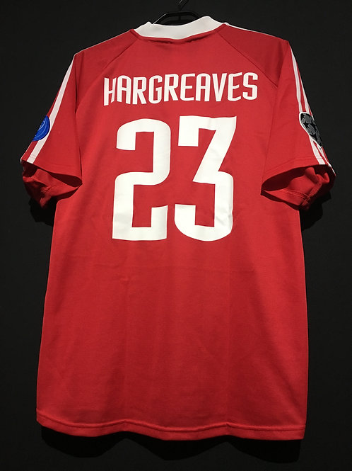 【2001/2002】 / FC Bayern Munich / Cup(Home) / No.23 HARGREAVES / UCL