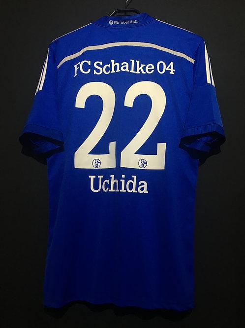 【2014/16】 / Schalke 04 / Home / No.22 UCHIDA