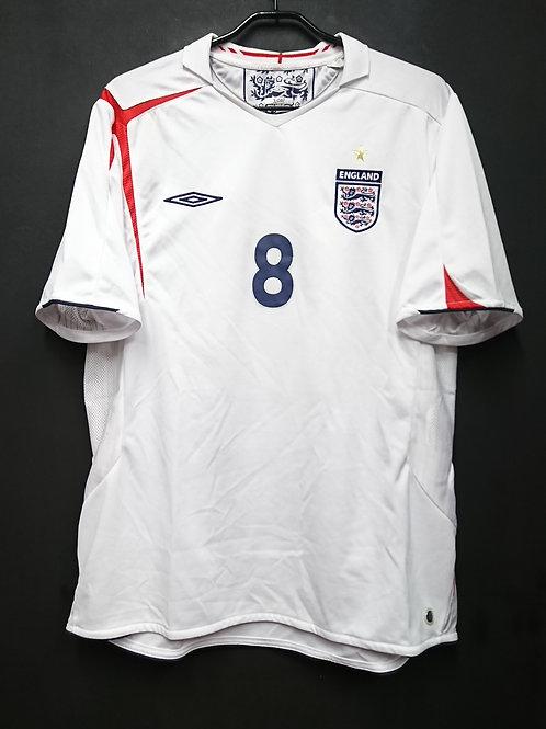 【2005/07】 / England / Home / No.8 LAMPARD