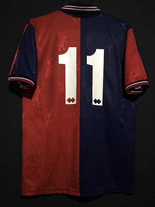 【1994/95】 / Genoa C.F.C. / Home / No.11