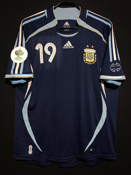 【2006】 / Argentina / Away / No.19 MESSI / FIFA World Cup