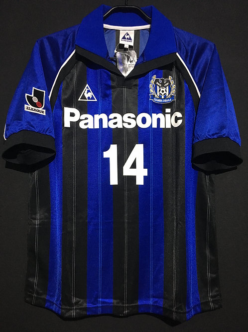【1999/2000】 / Gamba Osaka / Home / No.14