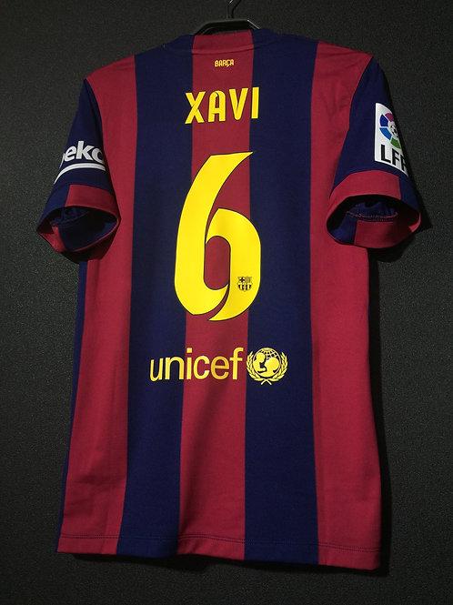 【2015】 / FC Barcelona / Home / No.6 XAVI / 6RACIES XAVI