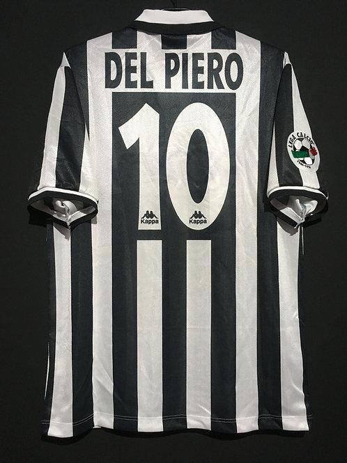 【1996/97】 / Juventus / Home / No.10 DEL PIERO / Phase1 / Sublimation printing
