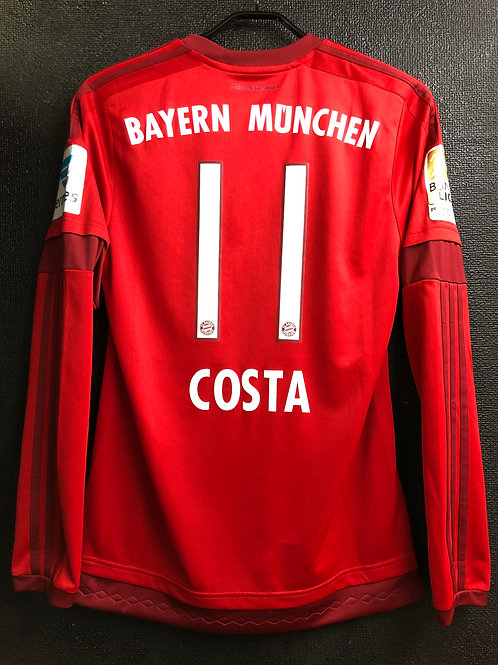 【2015/16】 / FC Bayern Munich / Home / No.11 COSTA