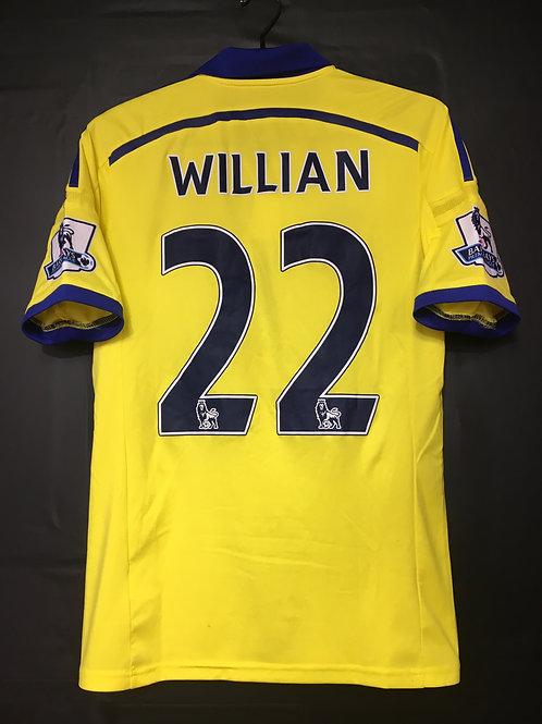 【2014/15】 / Chelsea / Away / No.22 WILLIAN