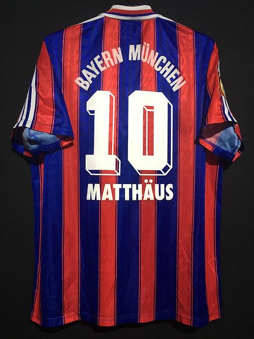 【1995/97】 / FC Bayern Munich / Home / No.10 MATTHAUS
