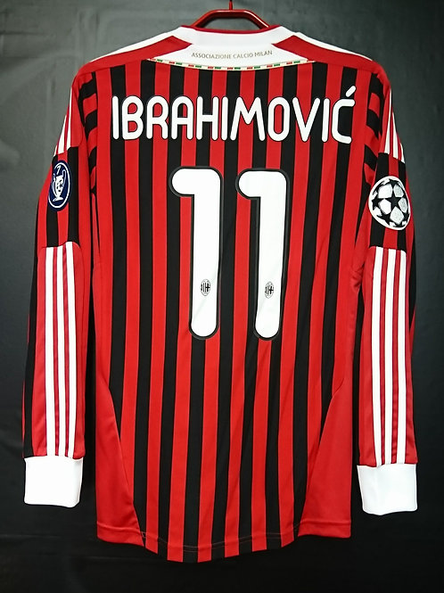 【2011/12】 / A.C. Milan / Home / No.11 IBRAHIMOVIC / UCL